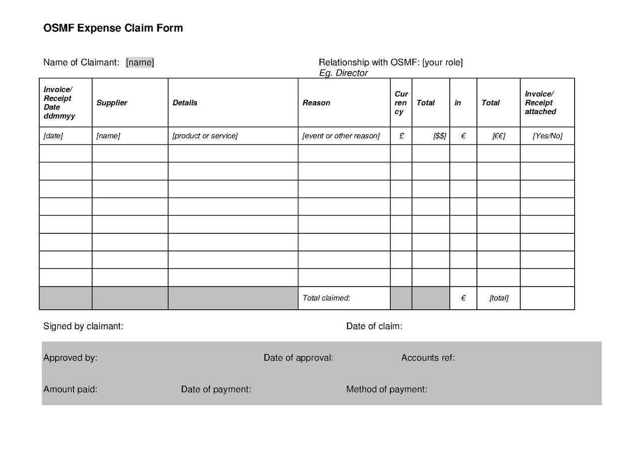 File Osmf Expenses Claim Form V1 1 Pdf Openstreetmap