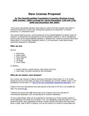 proposal document
